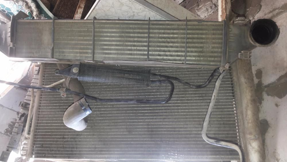 Радиатор интеркулера печки кондиционера ГУР Мерседес W203