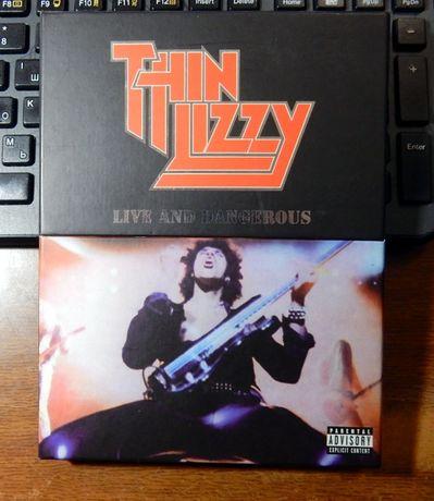 Диск DVD Thin Lizzy - Live and Dangerous .