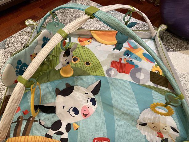 Игровой коврик Tiny love 0+ Весёлая ферма