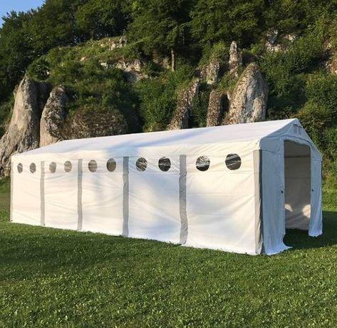Namiot magazynowy WINTER 4x6m Całoroczny HALA pvc magazyn wiata MTB