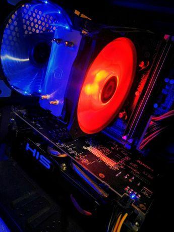 Мощный игровой компьютер RX570, 12gb DDR3, HDD 640 gb, i5