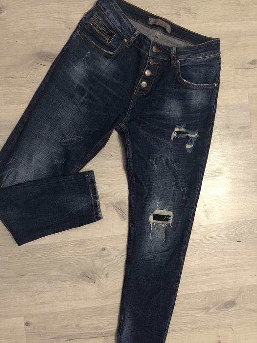 Мом бойфренд скини джинсы рваные Софиевская Борщаговка - изображение 1