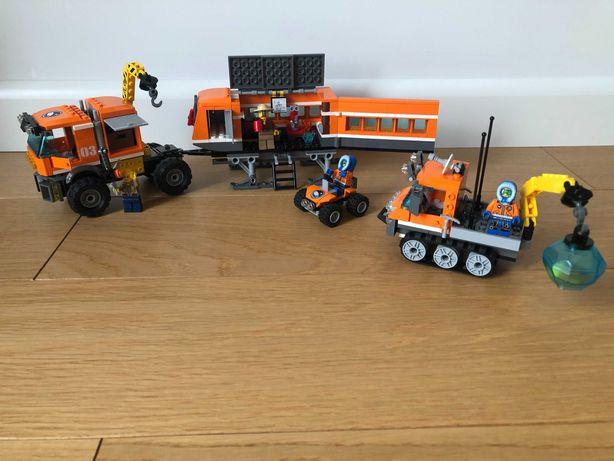 2 Zestawy Lego Łazik 60033 +  Mobilna jednostka arktyczna 60035