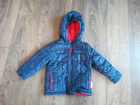 Dwustronna kurtka dla chłopca Coccodrillo 98