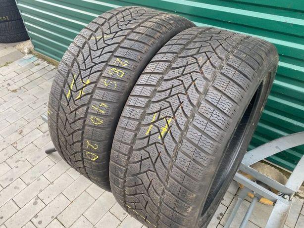 Шини зима бу 285/40R20 Dunlop Winter Sport5 2шт 17рік 8,5мм