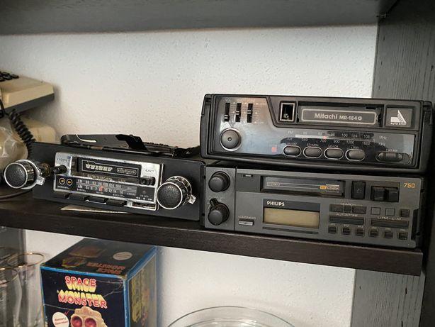 Radios carro antigos