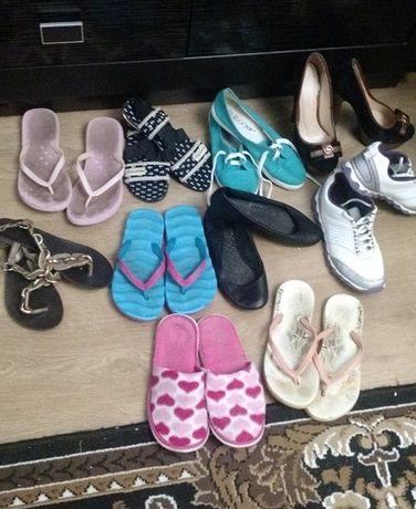 Продам 10 пар обуви 36 размера одним лотом