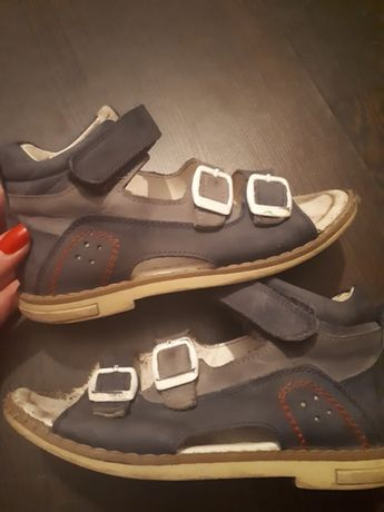 Woopy!Детская ортопедическая кожаная турецкая обувь б/у