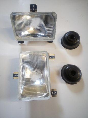 Lampa przednia przód Reflektor Massey Ferguson MF Renault Case Claas