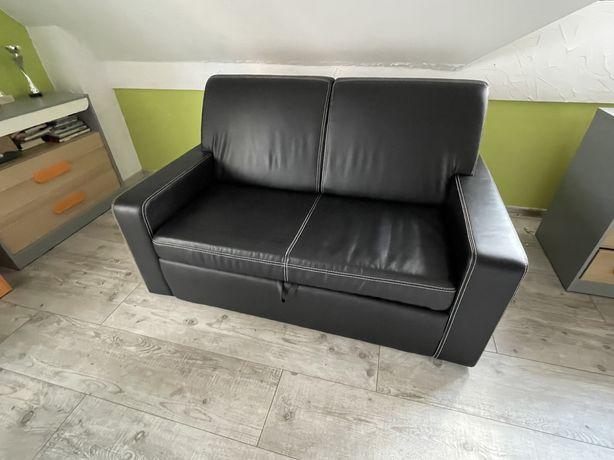 Sofa rozkladana z Eko Skóry