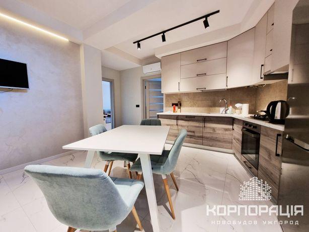 Оренда 2-км квартири, новобудова, сучасний ремонт, меблі, техніка