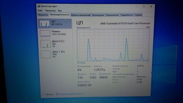 Ноутбук HP 620 625 (8 gb ddr3  ssd)  шикарно працює