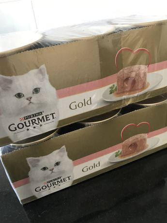 Comida gato gourmet gold
