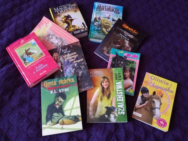 zestaw książek dla dziewczynki