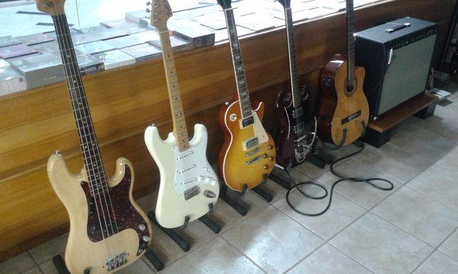 Aulas de Guitarra ao domicílio ou em Coimbra em espaço de música.