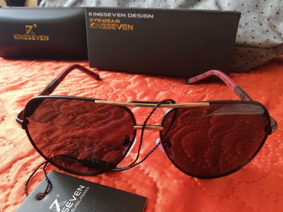 Okulary przeciwsłoneczne męskie KINGSEVEN Przeworsk - image 1