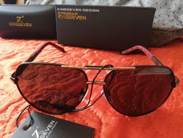 Okulary przeciwsłoneczne męskie KINGSEVEN