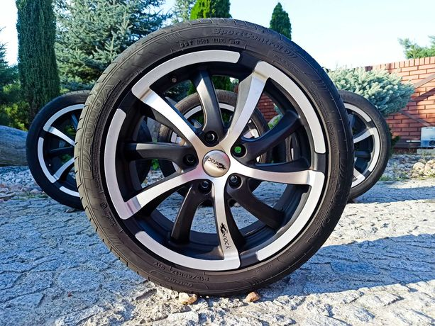 Alufelgi oryginalne Brock 5x114.3 17 Lato 215/45/17 6mm Honda Mazda