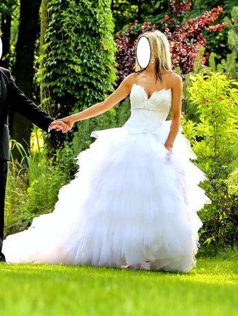 Suknia ślubna 38 Demetrios Lisa Ferrera 2829 poszukiwana