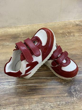 Кроссовки кросівки кожаные шкіряні Woopy fashion