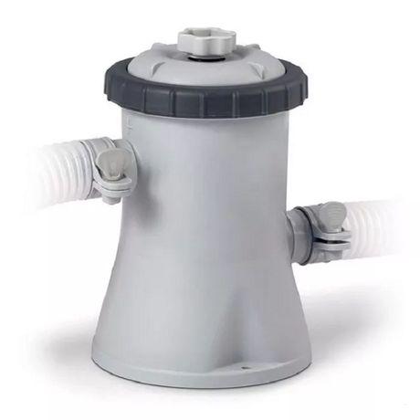 Картриджный фильтр насос для бассейна чистка воды INTEX 1250 л/ч