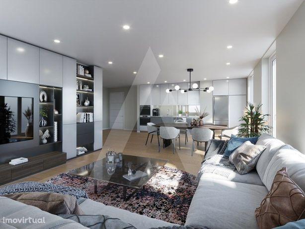 Apartamento T2 novo em Esgueira