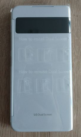 Nowy biały Dual Screen do telefonu LG Velvet na gwarancji producenta