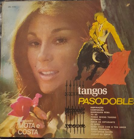 Lps em vinil - Tangos e Pasodobles - Carnaval Brasil - 24 Super êxitos