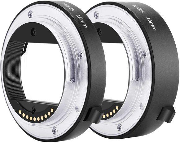 Neewer - Tubos de extensão para Fotografia MACRO para Sony E-Mount