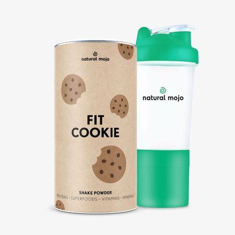 Fit Cookie Natural Mojo zestaw szejk plus szejker