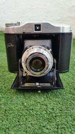Maquina Fotográfica Vintage Franka Sólida em excelente estado