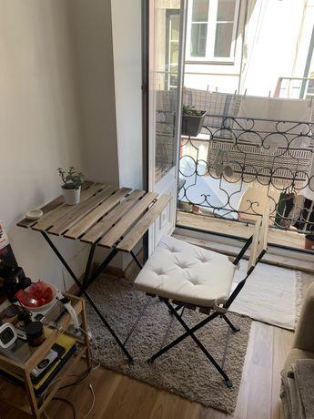 IKEA Tarno Mesa + 1 cadeira + 1 almofada para cadeira