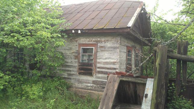 Огромный участок Феневичи 1,06 га+дом 33 кв.м до 50 км от Киева