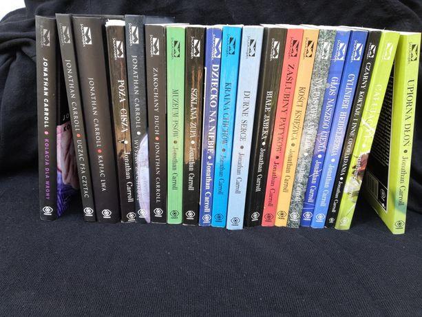 Jonathan Carroll - kolekcja 20 książek