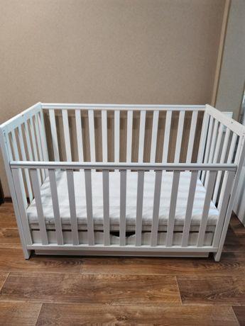 Детская кроватка Верес ЛД 13 с матрасом