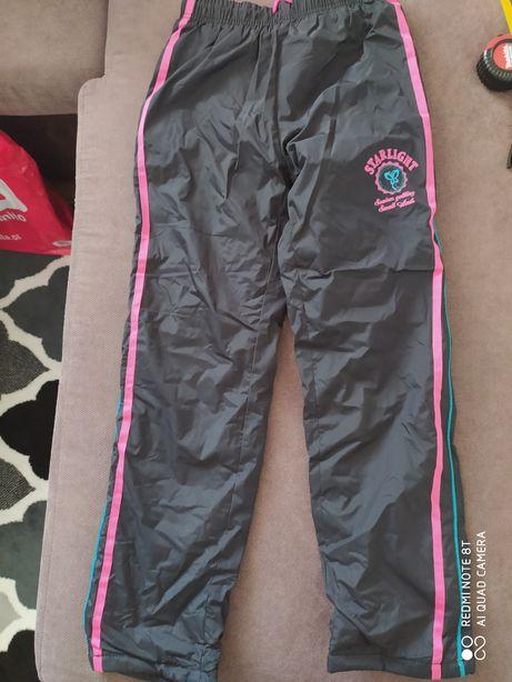 Spodnie ocieplane 138-134