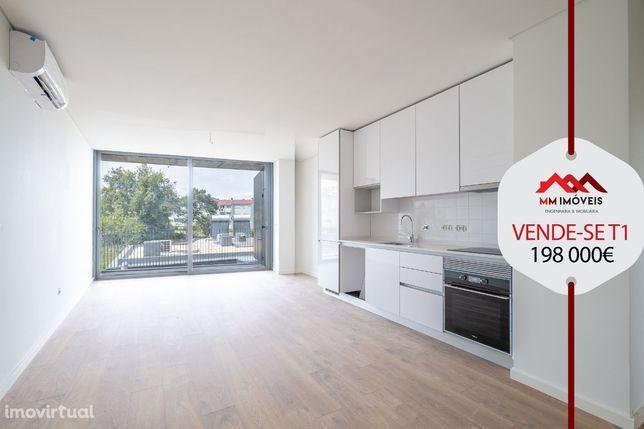Apartamento T1 | Novo | Varandas | Suite | Lug Garagem | Polo Universi