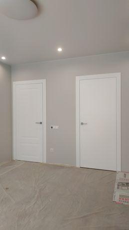 Установка/монтаж межкомнатных и входных дверей