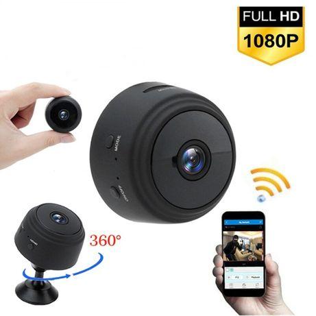Мини камера A9 Миниатюрная HD IP P2P камера с wifi A9 HD камера екшн
