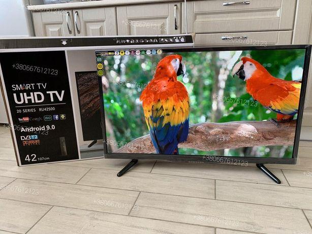 Телевизор Samsung 42 дюйма Телевізор Самсунг Smart TV T2 Full HD