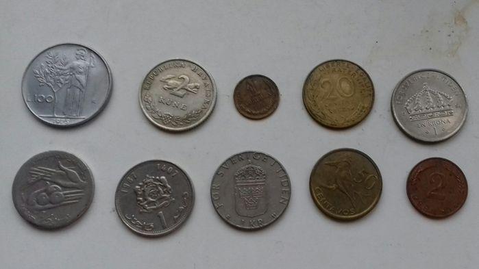 Монеты Мира.Разные.Одним лотом. Запорожье - изображение 1