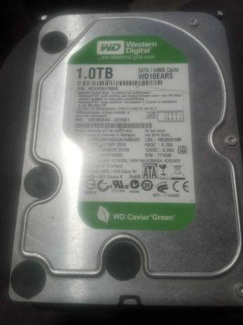 Жесткий диск,винчестер,HDD WD10EARS 1TB