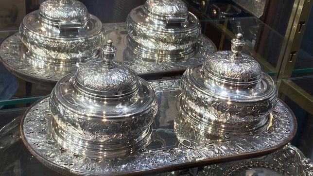 Peças Para Venda Pratas Antiguidades Porcelanas Antigo Decor