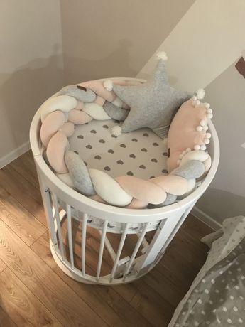Продам круглую кроватку Mioobaby