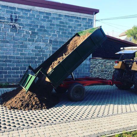 Przyczepa ogrodowa rolnicza 3.5 tony kiprowana na 3 strony