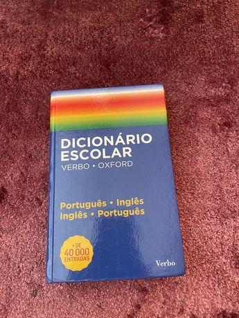Dicionário escolar Oxford Português-Inglês e Inglês-Português
