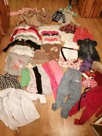 Ubranka dla dziewczynki rozmiar 122