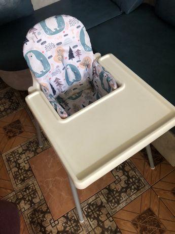 Стульчик для кормления стул икеа antilop ikea