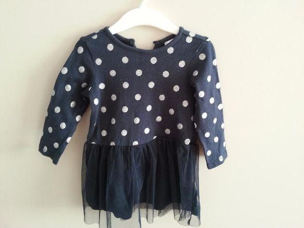 Sukienka dla dziewczynki H&M uroczystość rozmiar 80