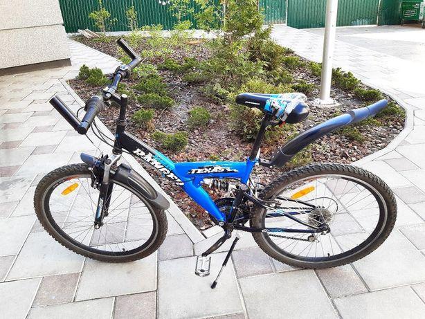 Синий горный велосипед Texas Ranger для подростка